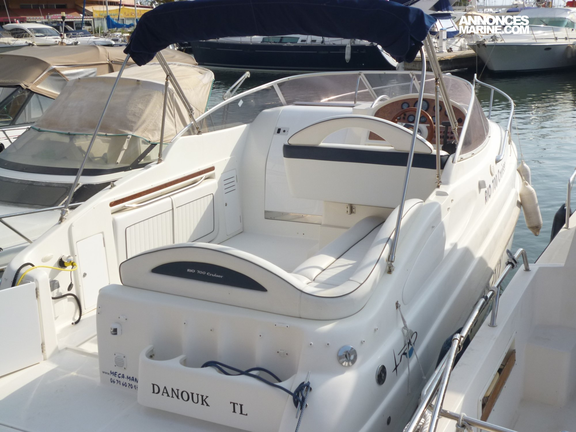 Bateau rio 700 cruiser day cruiser occasion la vente - Place de port disponible mediterranee ...