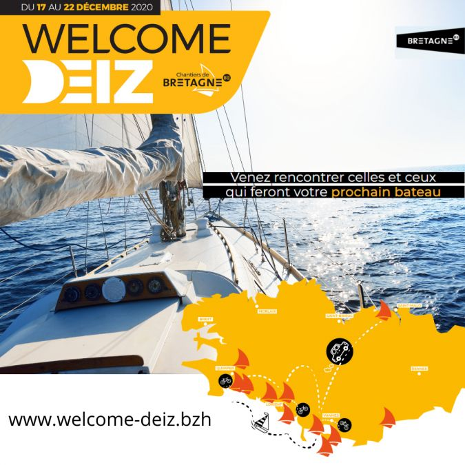 [SALON NAUTIQUE in BZH] - WELCOME DEIZ
