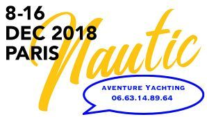 Aventure Yachting au salon nautique de Paris sur stand Adventure et Narwhal