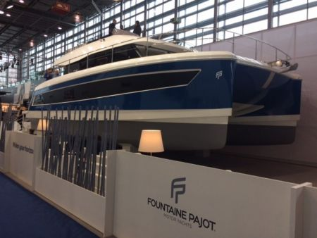 LANCEMENT MY44 FOUNTAINE PAJOT TRAWLER