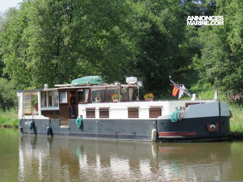 Barge Wide Beam � vendre - Photo 1