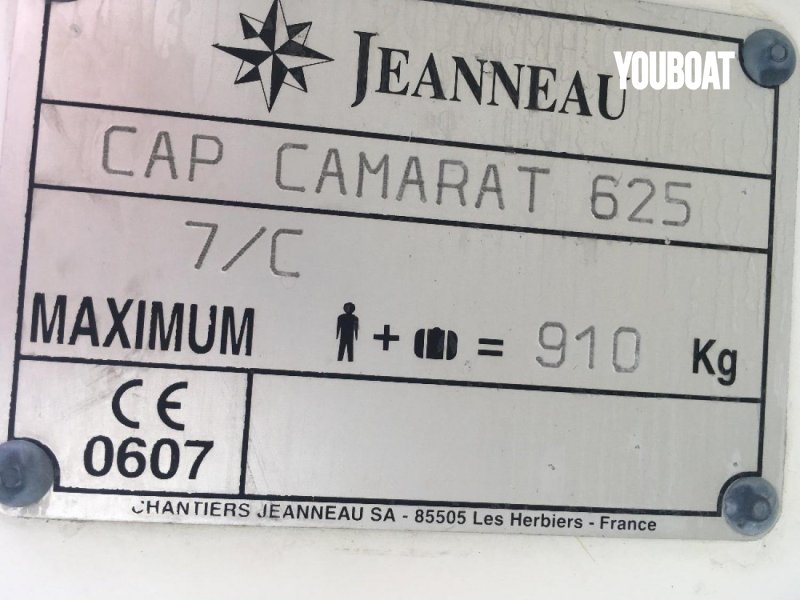Jeanneau Cap Camarat 625 à vendre - Photo 6