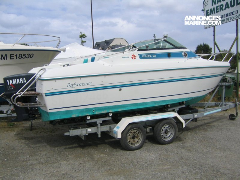 Jeanneau Leader 550 Performance � vendre - Photo 1