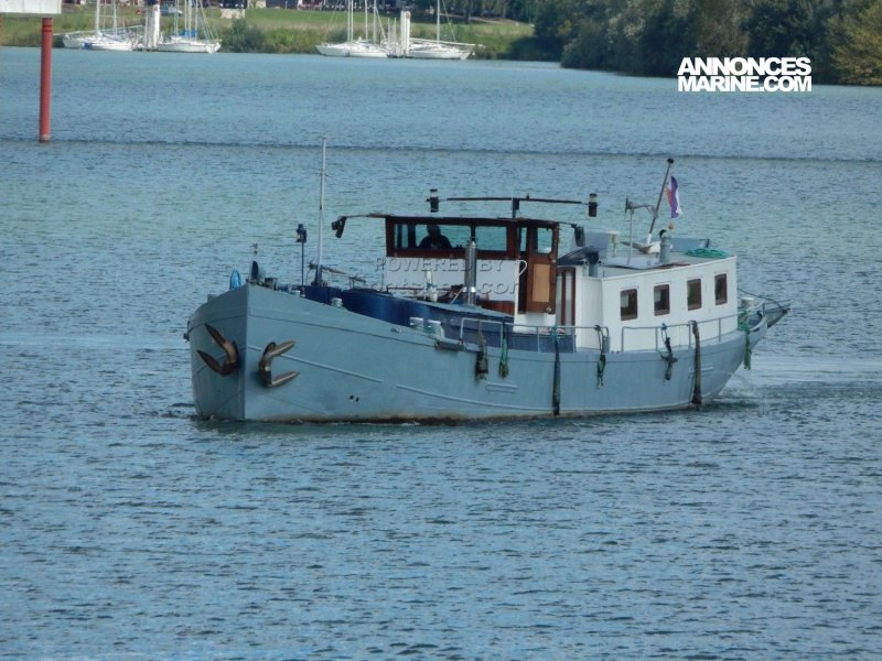 Luxe Motor Dutch Barge � vendre - Photo 1