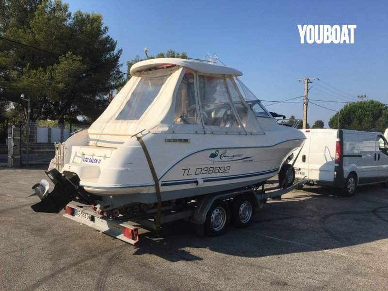 Quicksilver 620 Flamingo - 135ch 3.0L ALPHA ONE Mercruiser (Ess.) - 6.15m - 2007 - 12.000 €