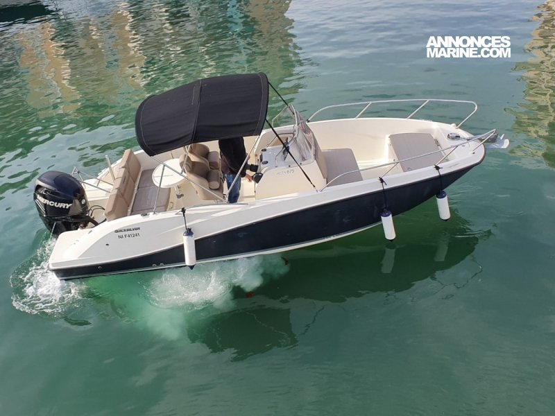 Quicksilver Activ 675 Open � vendre - Photo 1