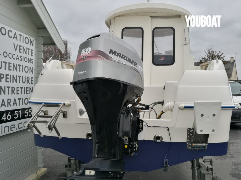 Quicksilver 500 Pilothouse - 50ch 4 temps injection Mariner (Ess.) - 5m - 2006 - 12.750 €