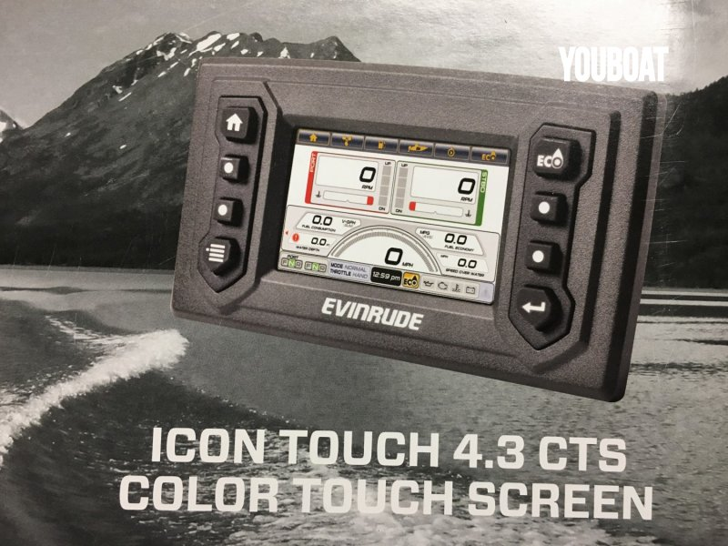 ECRAN EVINRUDE ICON TOUCH 4.3CTS