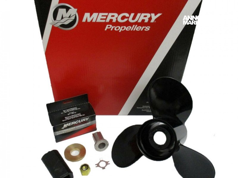 Hélice HELICE MERCURY BLACKMAX 12 3/4  21P RH PROPELLER 77348A45 � vendre - Photo 1