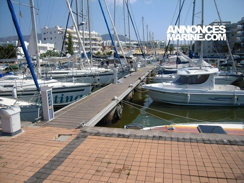 Ponton fixe d'amarrage Place de port 12 m � vendre - Photo 1