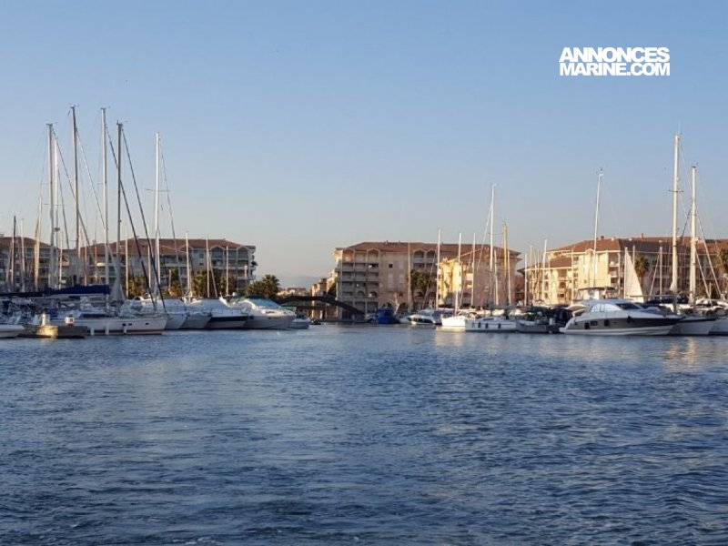 Ponton fixe d'amarrage PLACE DE PORT 13 x 6.80 PORT FREJUS � vendre - Photo 1