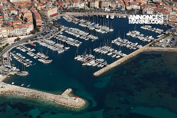 Ponton fixe d'amarrage PLACE DE PORT SANARY SUR MER (7.3m x 2.7m) � vendre - Photo 1