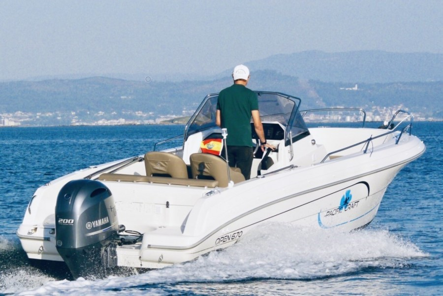 Pacific Craft 670 Open nuovo