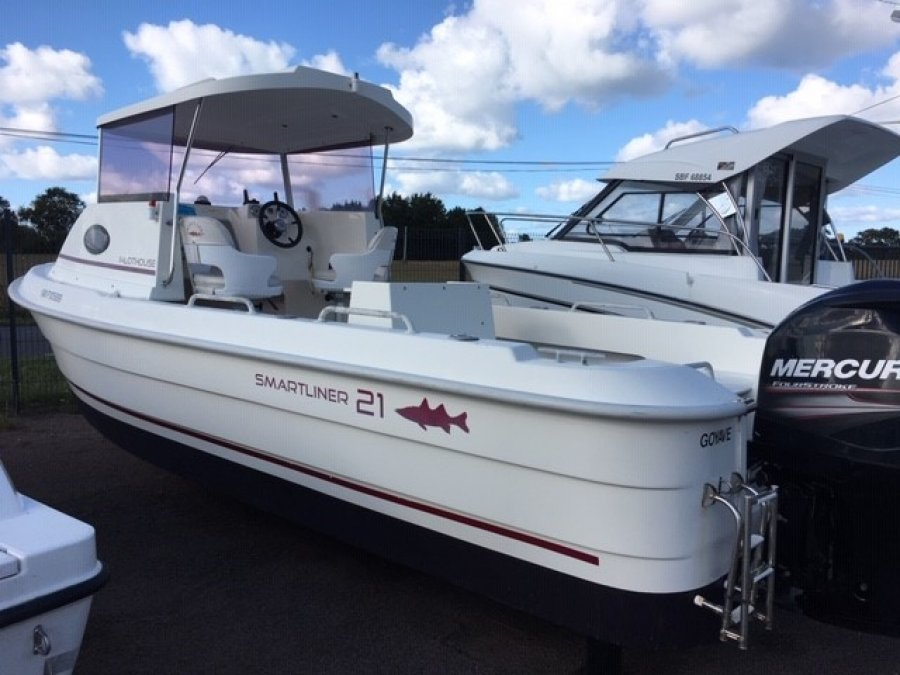 Smartliner 21 Pilothouse occasion
