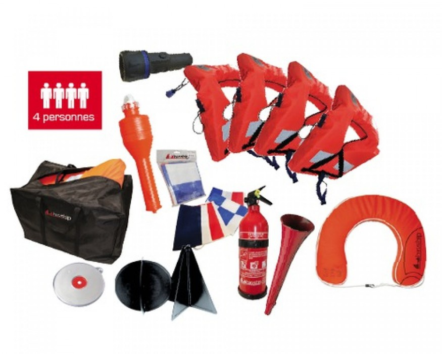 PACK ARMEMENT - 6 MILLES 4 PERSONNES neuf