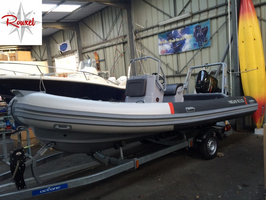 annonce bateau Highfield OM 590 T