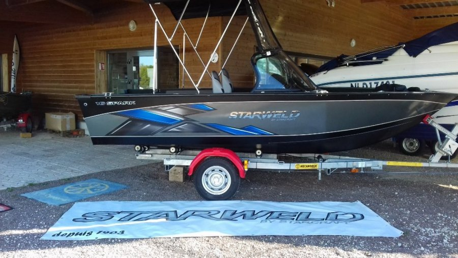 Bass Boat Starweld Spark 16 Dc new