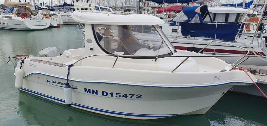 Quicksilver 580 Pilothouse à vendre par