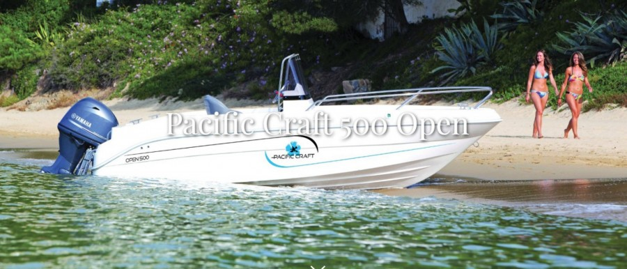 Pacific Craft 500 Open nuevo
