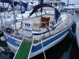 bateau occasion Hallberg Rassy Hallberg Rassy 312 CHANTIER NAVAL YES - MAGASIN BIGSHIP - YES COURTAGE