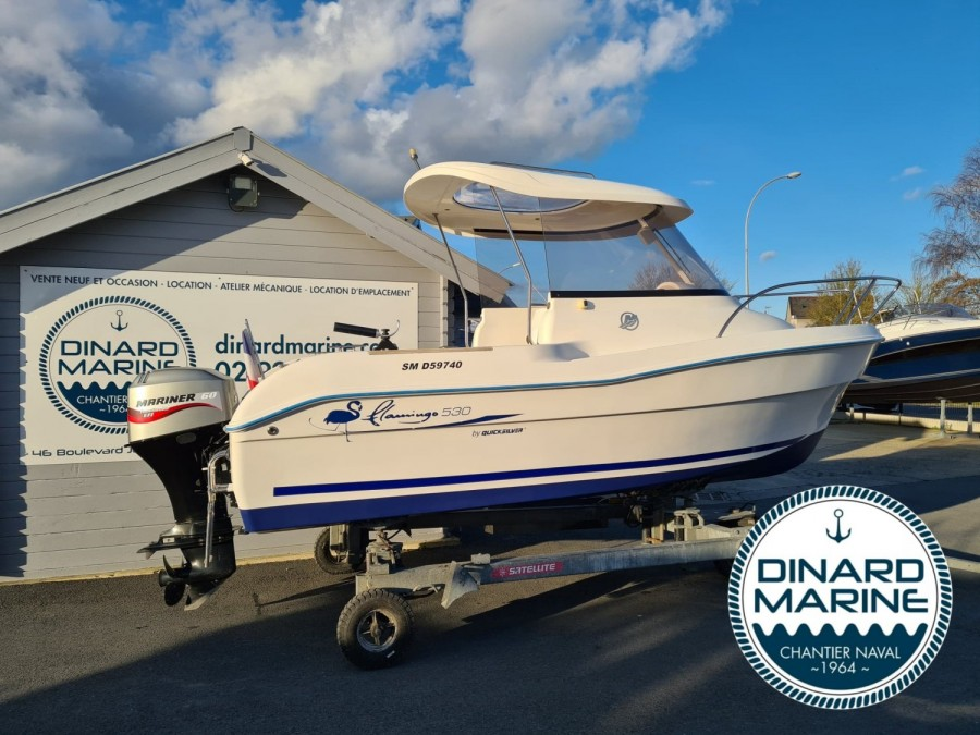 Quicksilver 530 Pilothouse à vendre par