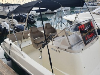 Quicksilver Activ 675 Open � vendre - Photo 12