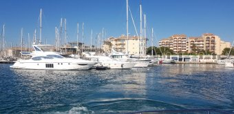 Ponton fixe d'amarrage PLACE DE PORT 12 x 4 Port Frejus � vendre - Photo 4