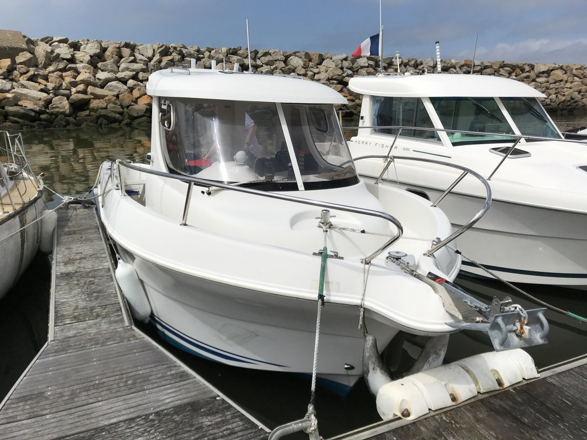 Quicksilver 640 Pilothouse occasion