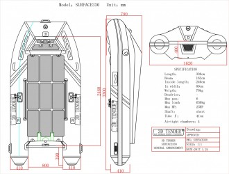 3D Tender Surface RIB 330 é vendre - Photo 6