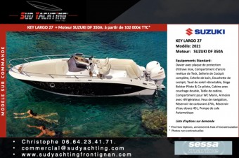 Sessa Marine Key Largo 27 é vendre - Photo 1