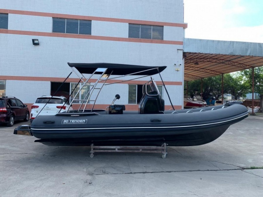 3D Tender Lux 655 Limited Black Edition