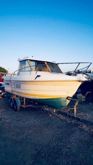 Quicksilver Activ 605 Pilothouse used