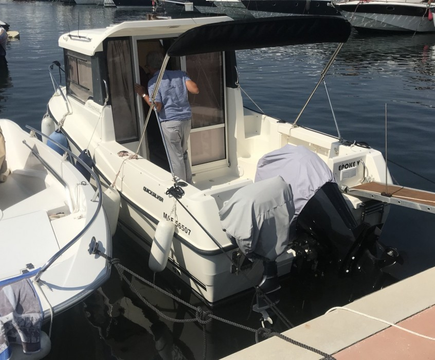 Quicksilver Activ 555 Cabin tweedehands