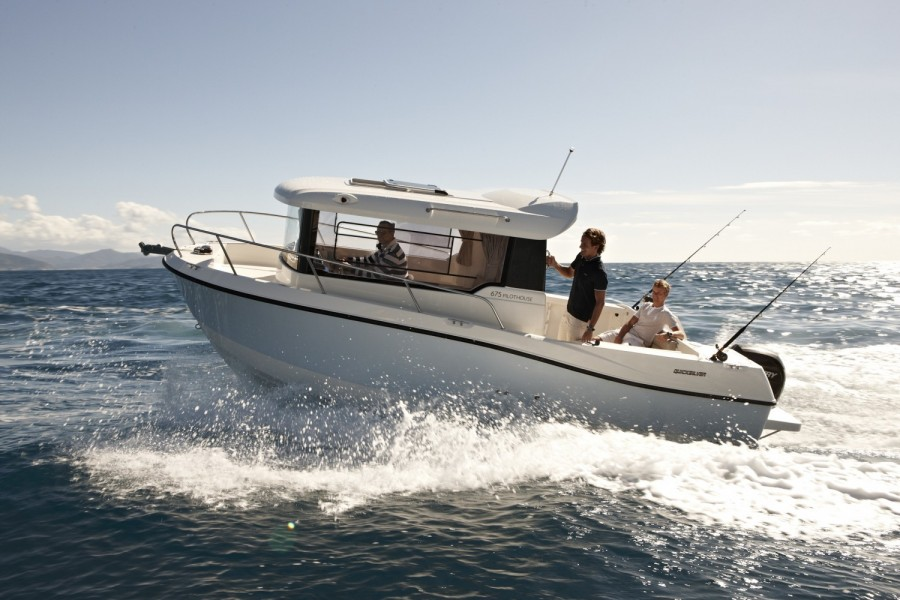 Quicksilver Captur 675 Pilothouse à vendre par