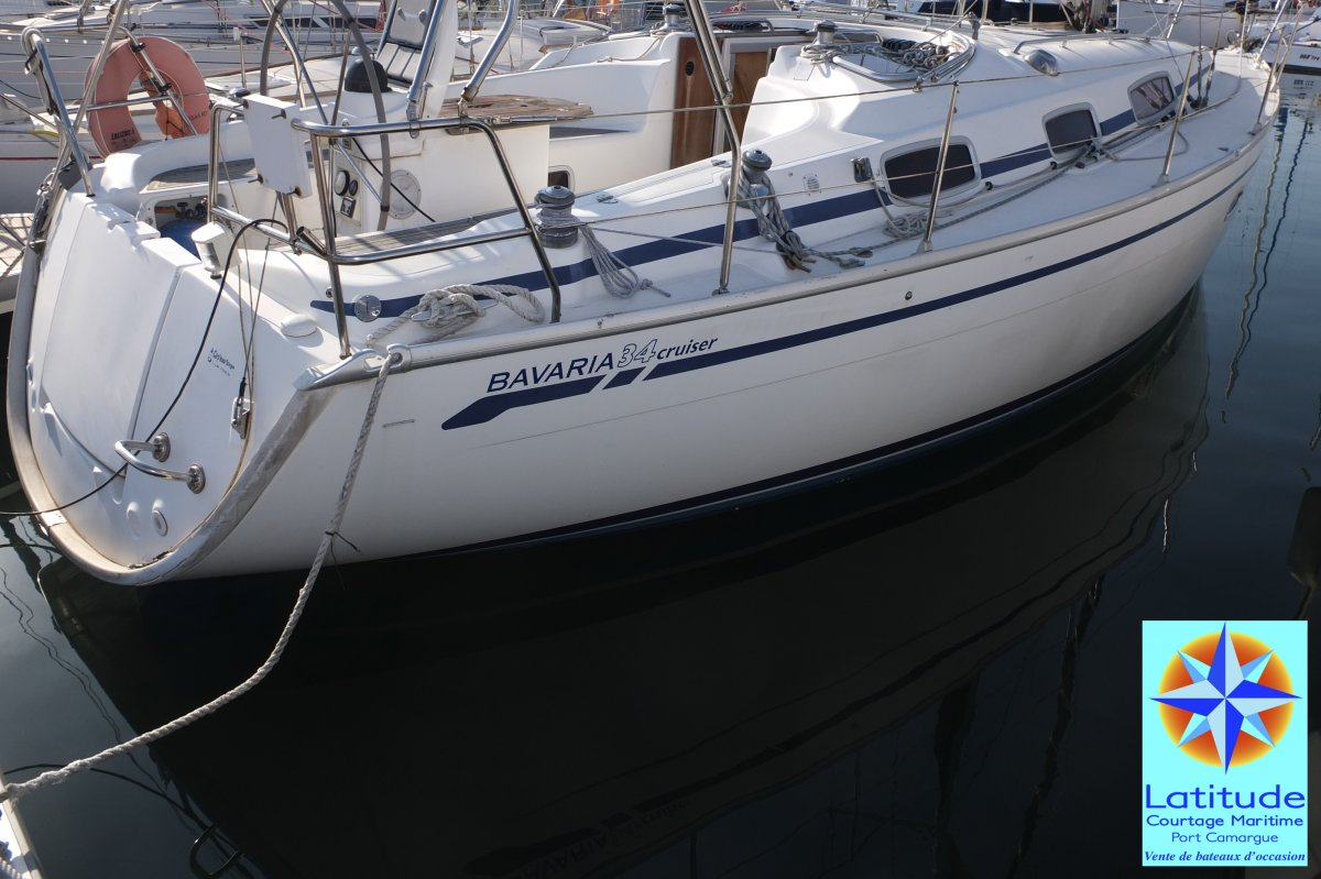 Bavaria 34 Cruiser used