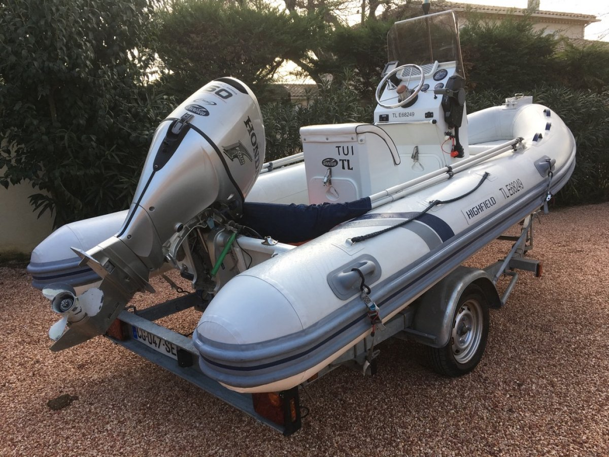 annonce bateau Highfield OM 460