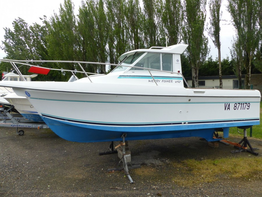 Jeanneau Merry Fisher 650 occasion
