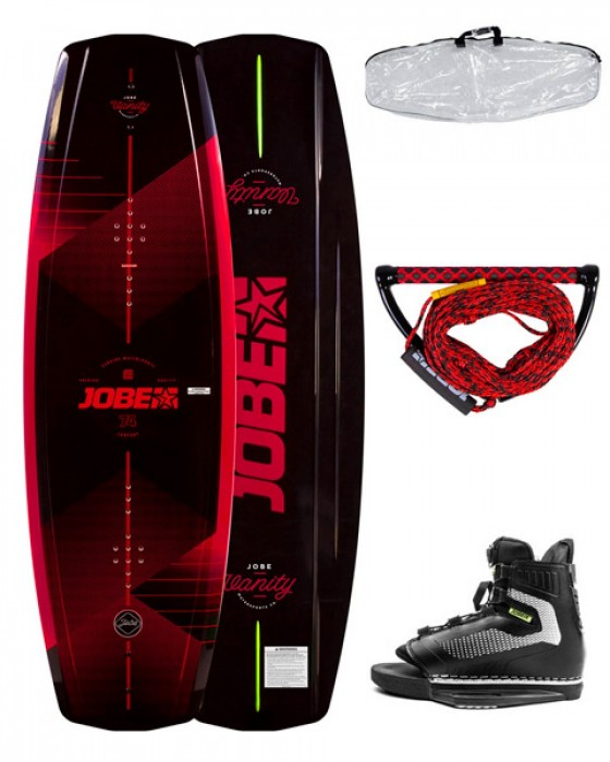 WAKEBOARD & CHAUSSES MAZE VANITY PACKAGE JOBE neuf