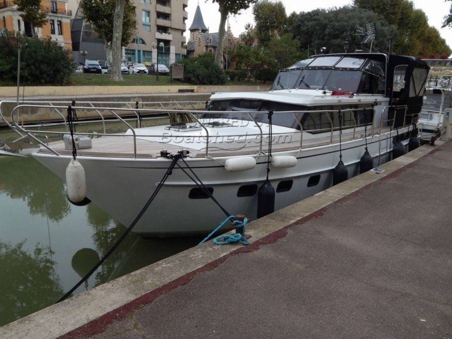 Dutch Barge Steel Cruiser à vendre par