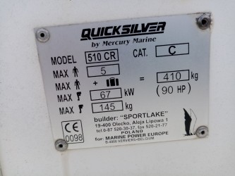 Quicksilver Quicksilver 510 Cruiser � vendre - Photo 11