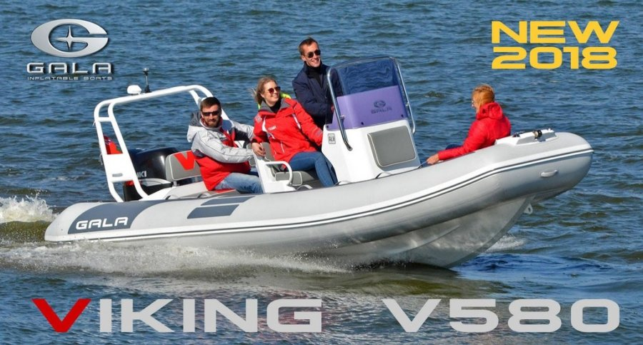 Gala Boats V580 Deluxe nuovo