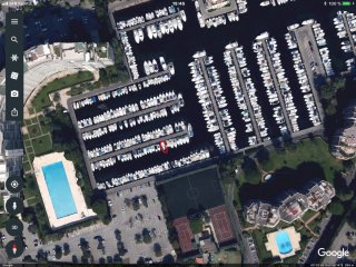 Ponton fixe d'amarrage Vente Place 7.70x2.50 Cannes Marina � vendre - Photo 2