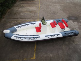 achat pneumatique 3D Tender Patrol 550 White Limited