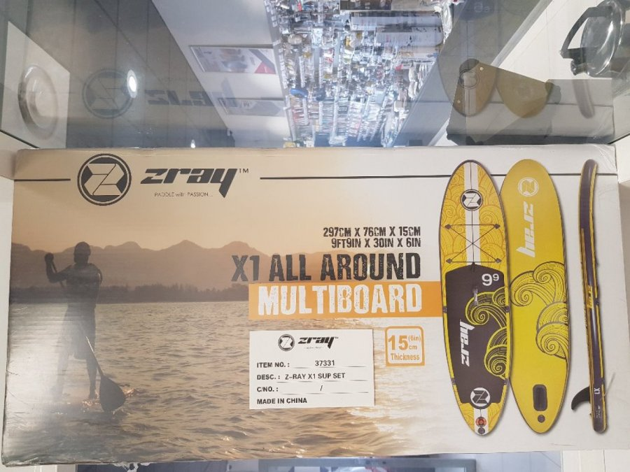 PACK STAND UP PADDLE ZRAY E10 9'9 + PAGAIE neuf