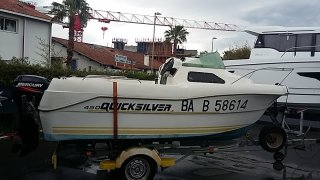 achat  Quicksilver Quicksilver 450 Cabine ATLANTIQUE NAUTIC HENDAYE