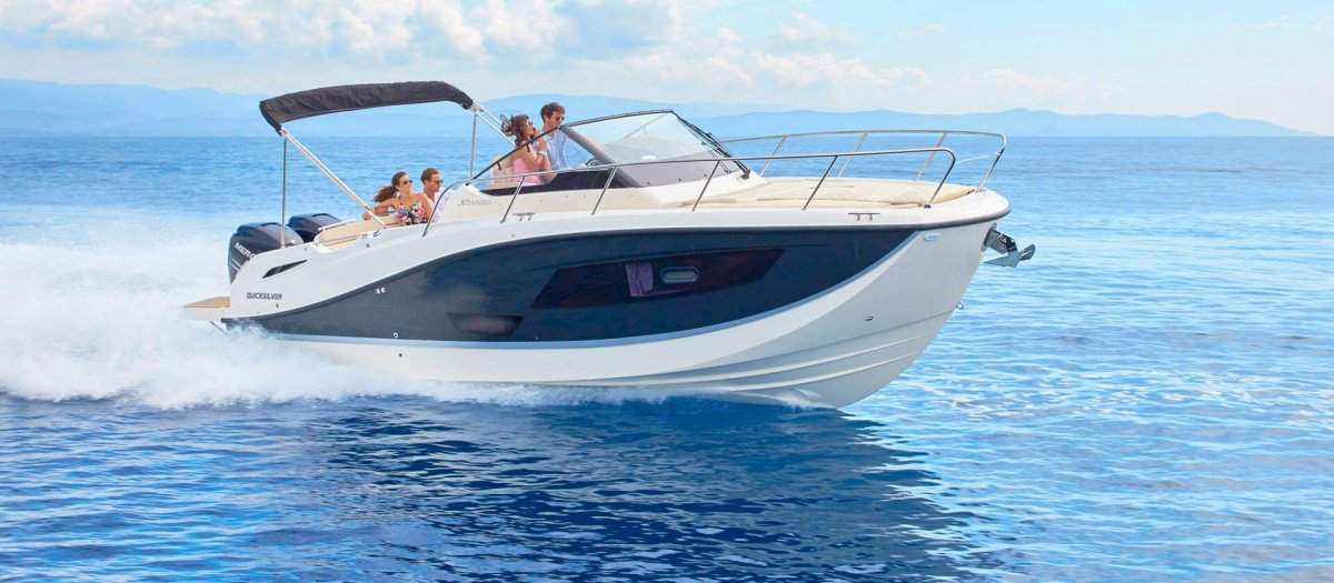 Quicksilver Activ 875 Sundeck new