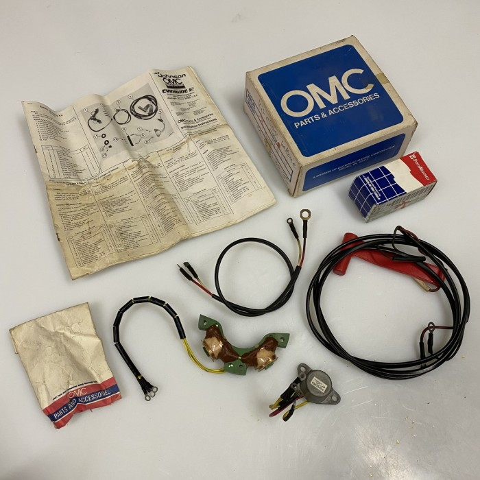 Kit charge batterie OMC neuf
