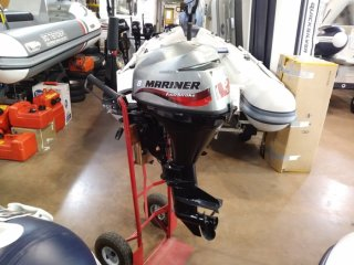Mariner f 8 hp s/s tiller used only £1150 with service, tank and 2 month warranty used for sale