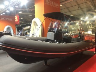 Rib / Inflatable 3D Tender Lux 655 Limited Black Edition new - SUD YACHTING