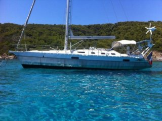 Voilier Alubat Ovni 385 occasion - BJ YACHTING